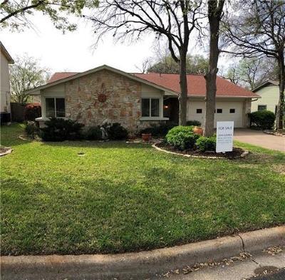 Austin TX Single Family Home For Sale: $311,995