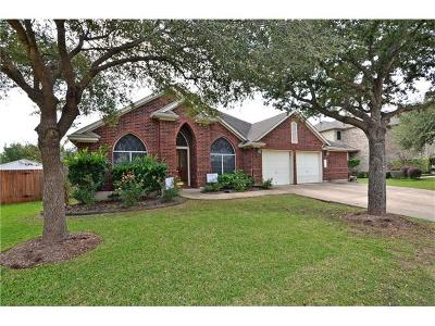 Cedar Park Single Family Home For Sale: 1714 Cattle Dr