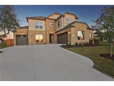 Round Rock Single Family Home For Sale: 4119 Capora Way
