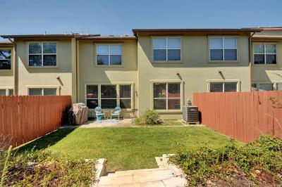 Round Rock Condo/Townhouse For Sale: 2410 Great Oaks Dr #103