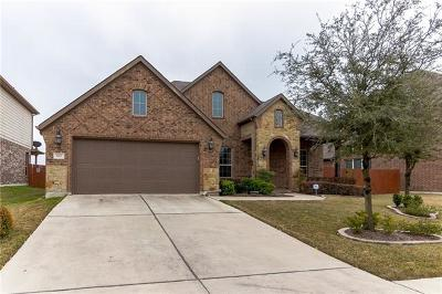 Pflugerville Single Family Home Pending - Taking Backups: 3901 Hidden Harbor Dr
