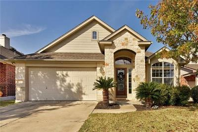 Round Rock Single Family Home Pending - Taking Backups: 3704 Fossilwood Way