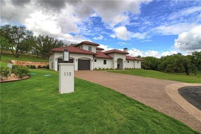 Horseshoe Bay Single Family Home For Sale: 113 James Cir