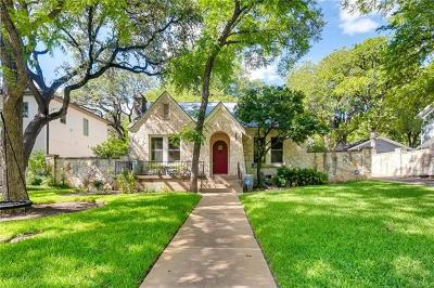 Austin TX Single Family Home For Sale: $1,350,000