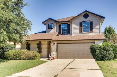 Hutto Single Family Home Active Contingent: 501 S Pauley Dr