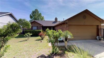 Leander Single Family Home Pending - Taking Backups: 512 Maplecreek Dr