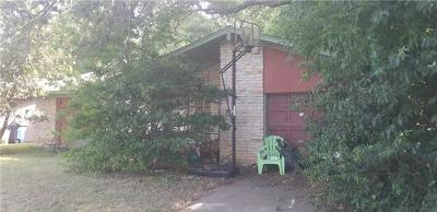 Austin TX Single Family Home For Sale: $249,000