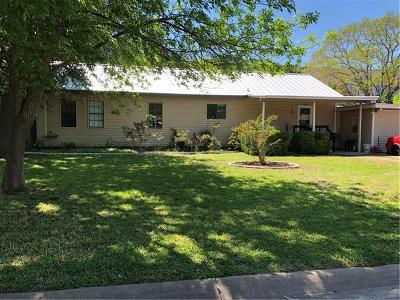 Round Rock Single Family Home Pending - Taking Backups: 2202 Dixie Ln