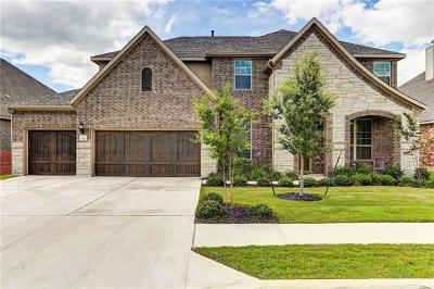 Leander Single Family Home For Sale: 1624 Hollowback Dr