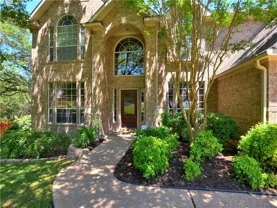 Round Rock Single Family Home Pending - Taking Backups: 7414 Two Jacks Trl