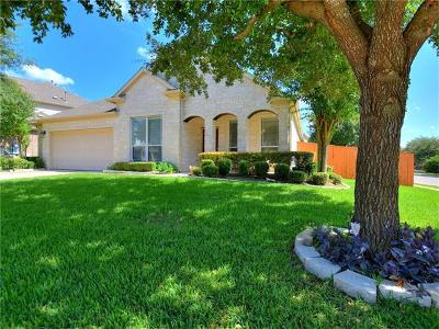 Round Rock Single Family Home For Sale: 701 Green Vista Ct