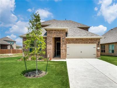 Leander Single Family Home For Sale: 601 Mistflower Springs Dr