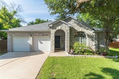 Round Rock Single Family Home For Sale: 1814 Hickory Ridge Cv