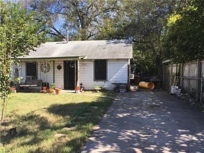 Travis County Single Family Home For Sale: 603 Tillery St