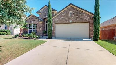 Round Rock Single Family Home For Sale: 3536 Rosalina Loop
