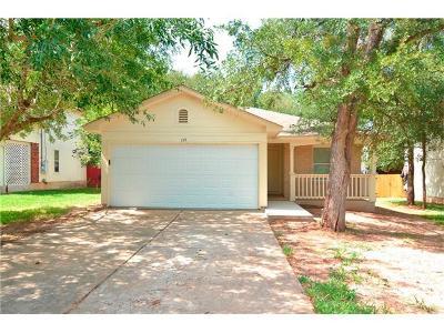 Cedar Creek Single Family Home Pending - Taking Backups: 115 High Point Blvd
