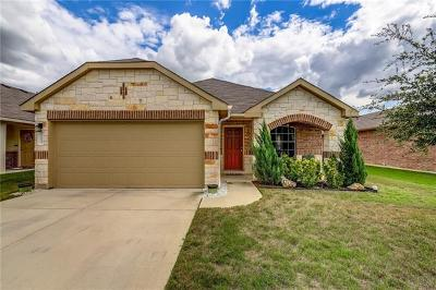 Leander Single Family Home For Sale: 113 Magpie Goose Ln