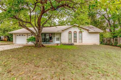 Travis County Single Family Home Pending - Taking Backups: 304 Thistlewood Dr
