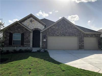 Round Rock Single Family Home For Sale: 6744 Leonardo Dr
