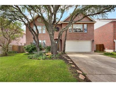 Cedar Park Single Family Home For Sale: 1511 Somerset Canyon Ln