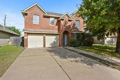 Round Rock Single Family Home For Sale: 2405 Cloud Peak Ln