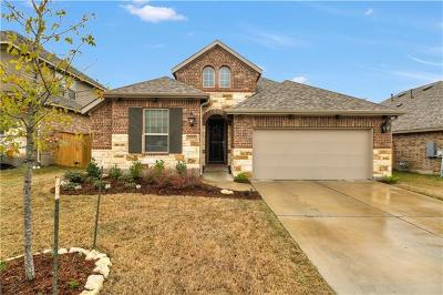 Round Rock Single Family Home For Sale: 2945 Diego Dr