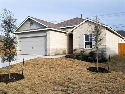 Round Rock Single Family Home For Sale: 3105 Blantyre Bnd