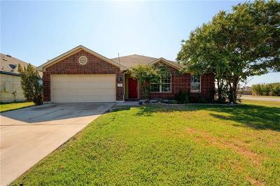 Hutto Single Family Home For Sale: 100 Edison Dr