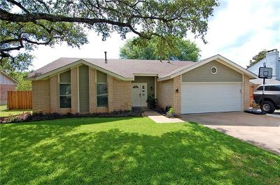 Round Rock Single Family Home Pending - Taking Backups: 1900 Oakridge Dr