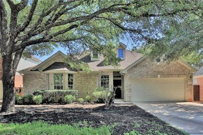 Cedar Park Single Family Home For Sale: 2010 Simbrah Dr