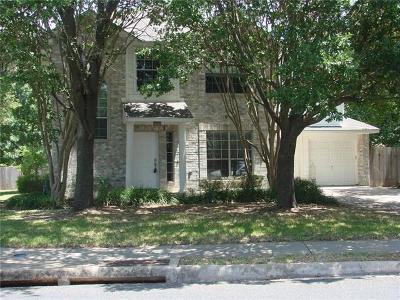 Round Rock TX Single Family Home For Sale: $264,985
