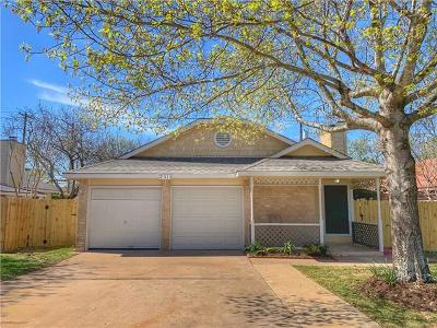 Austin TX Single Family Home For Sale: $270,000