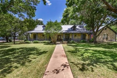 Round Rock Single Family Home For Sale: 200 Twin Ridge Dr