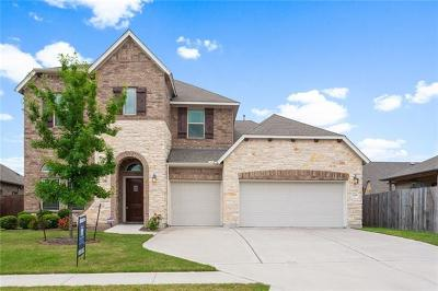 Pflugerville Single Family Home For Sale: 3405 Plover Run Trl