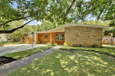 Austin Single Family Home For Sale: 7707 Lazy Ln