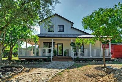 Dripping Springs Single Family Home For Sale: 350 Springlake Dr