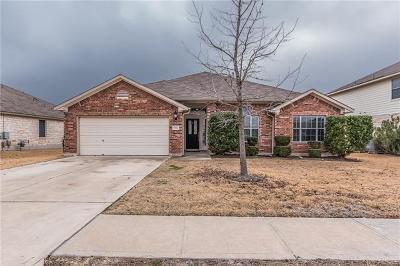Pflugerville Single Family Home Pending - Taking Backups: 18704 Chrighton Castle Bnd