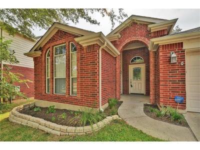 Cedar Park Single Family Home For Sale: 2312 Kerr Trl