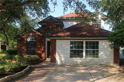 Cedar Park Single Family Home For Sale: 2310 Macaw Dr