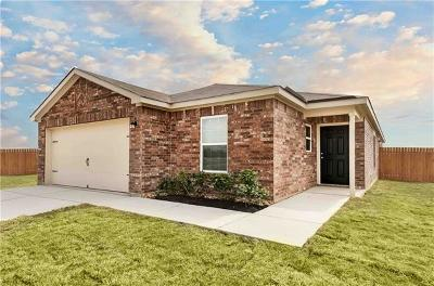 Jarrell Single Family Home For Sale: 628 Yearwood Ln