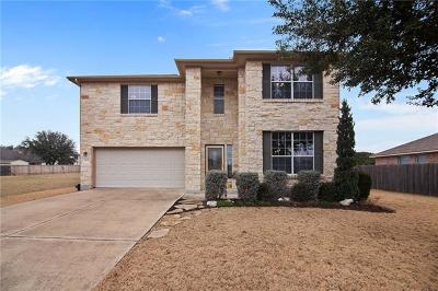 Round Rock TX Single Family Home For Sale: $265,000