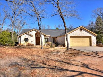 Bastrop County Single Family Home For Sale: 179 Jordan Ln