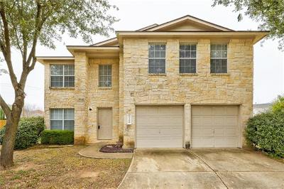 Pflugerville Single Family Home For Sale: 17308 Ardisia Dr