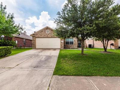 Pflugerville Single Family Home For Sale: 4328 Veiled Falls Dr