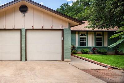 Austin Single Family Home Pending - Taking Backups: 5100 Powder River Rd