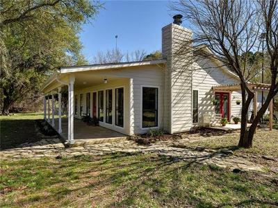 Wimberley Single Family Home Pending - Taking Backups: 302 River Rapids Rd