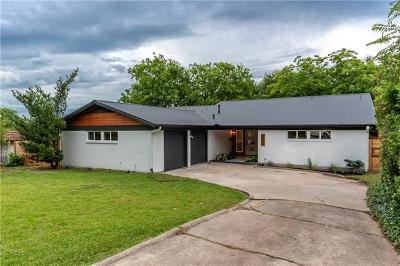 Austin Single Family Home For Sale: 1803 Cedar Ridge Dr