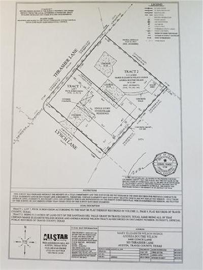Austin Single Family Home For Sale: 6400 Lynch Ln