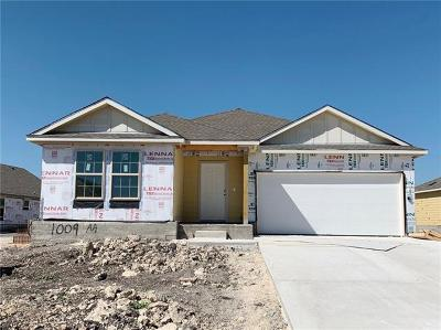 Hutto Single Family Home For Sale: 1009 Honey Locust Way