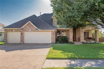 Round Rock Single Family Home Pending - Taking Backups: 16637 Malaga Hills Dr